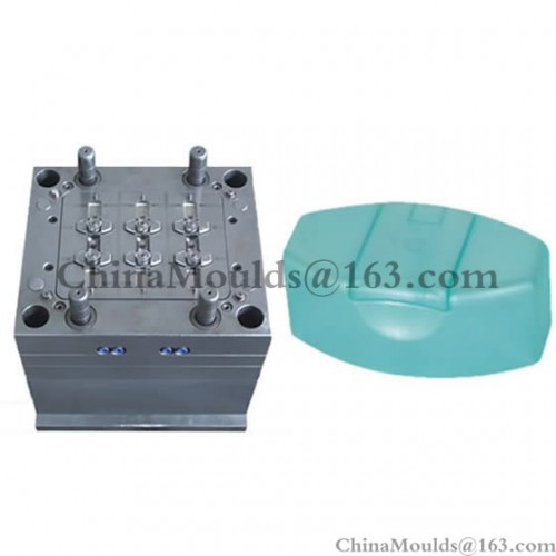 6-cavity shampoo cap mould